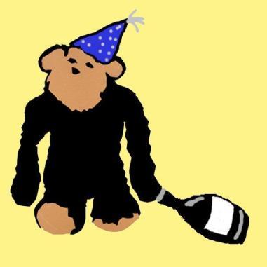 New Year's Monkey