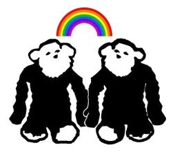 Monkeys Rainbow