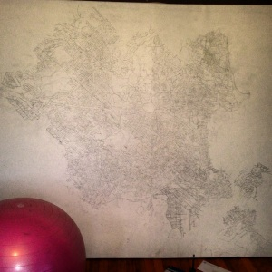 Map Drawing for Hush Puppy