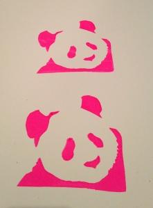 Pink Panda Prints